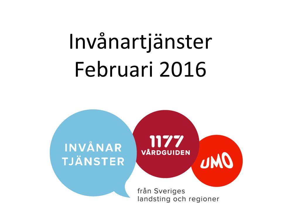 Invånartjänster Februari 2016