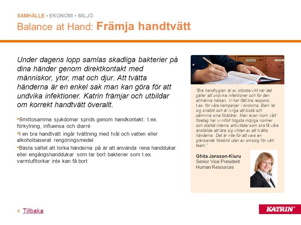 Katrin främjar hygien i sjukhus genom att samarbeta med Fachausschuss für Krankenhaustechnik (den tyska kommittén för sjukhusteknik).