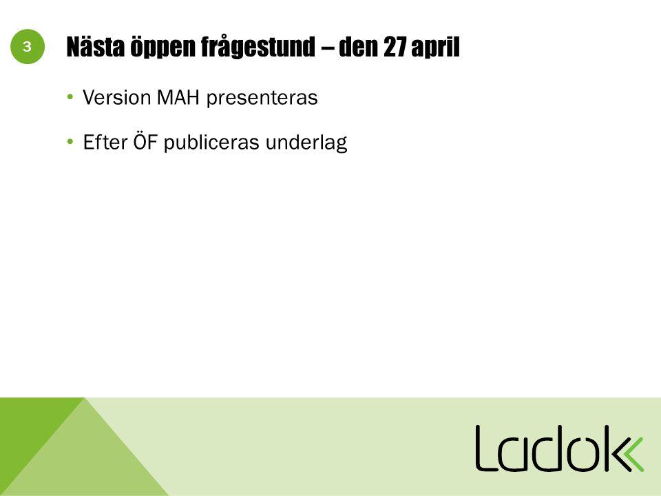 34 L3SUPPORT-2324: Frågor om funktioner i Ladok - uppföljning I detaljfilen (exportera underlag) finns två datum.