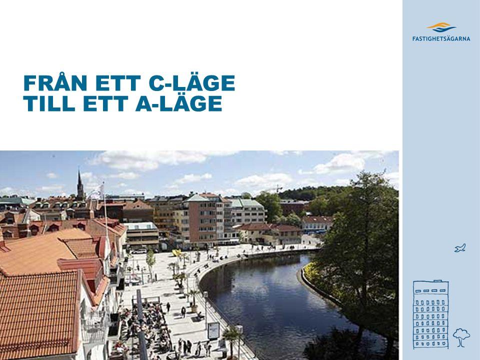 2.GÖR STADSKÄRNAN VÄRD BESÖKET Investera i stadsmiljön.