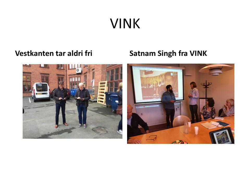 VINK Vestkanten tar aldri friSatnam Singh fra VINK