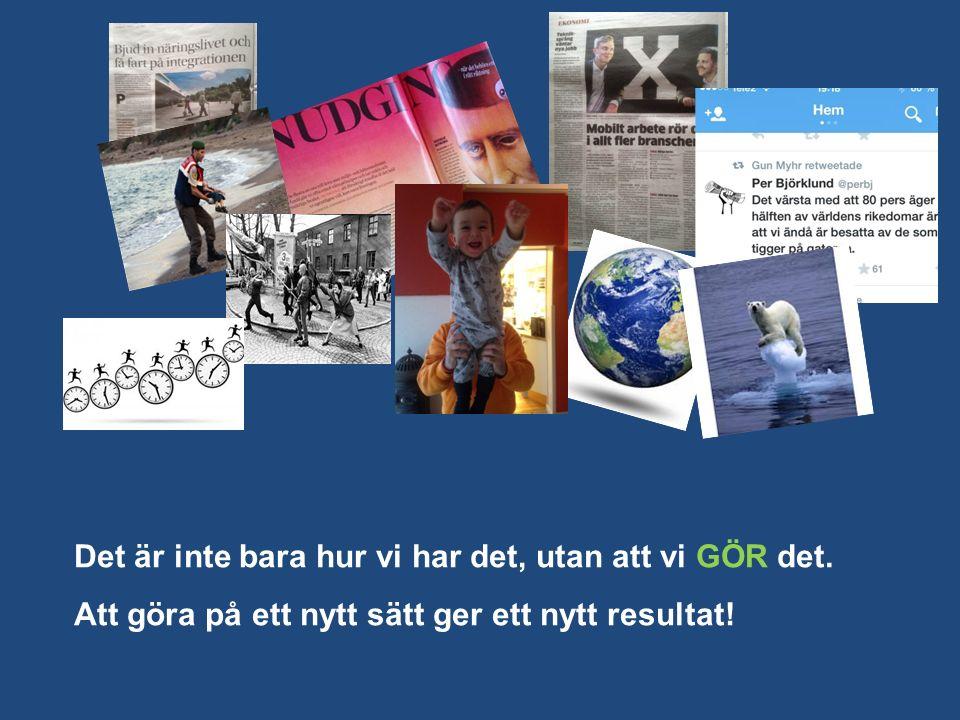 Hållbarhet ekologisk, socialt och ekonomiskt Minska onödig förbrukning.