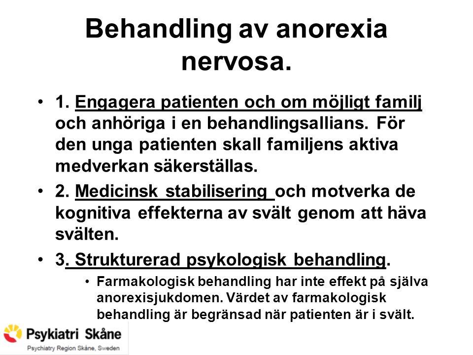 behandling av anorexia