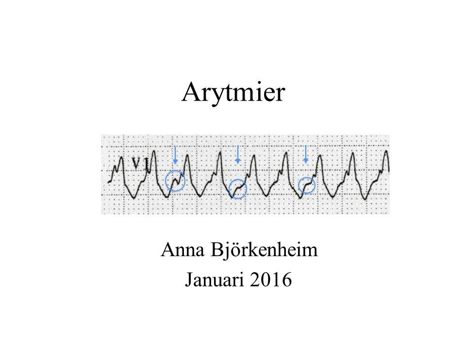Arytmier Anna Björkenheim Januari 2016