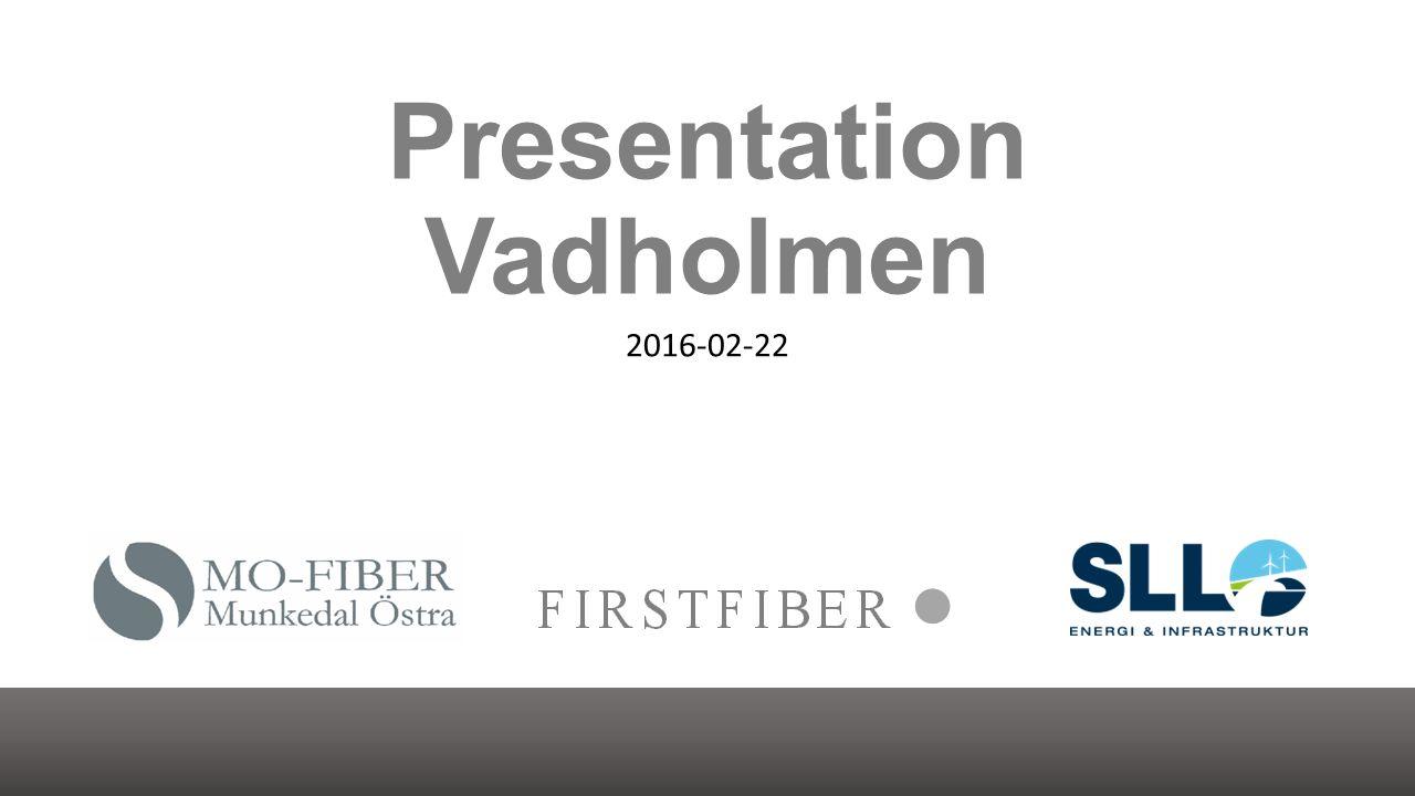 Presentation Vadholmen 2016-02-22