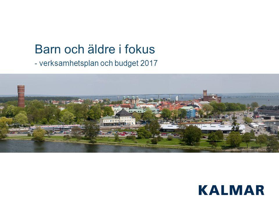 1 Barn och äldre i fokus - verksamhetsplan och budget 2017