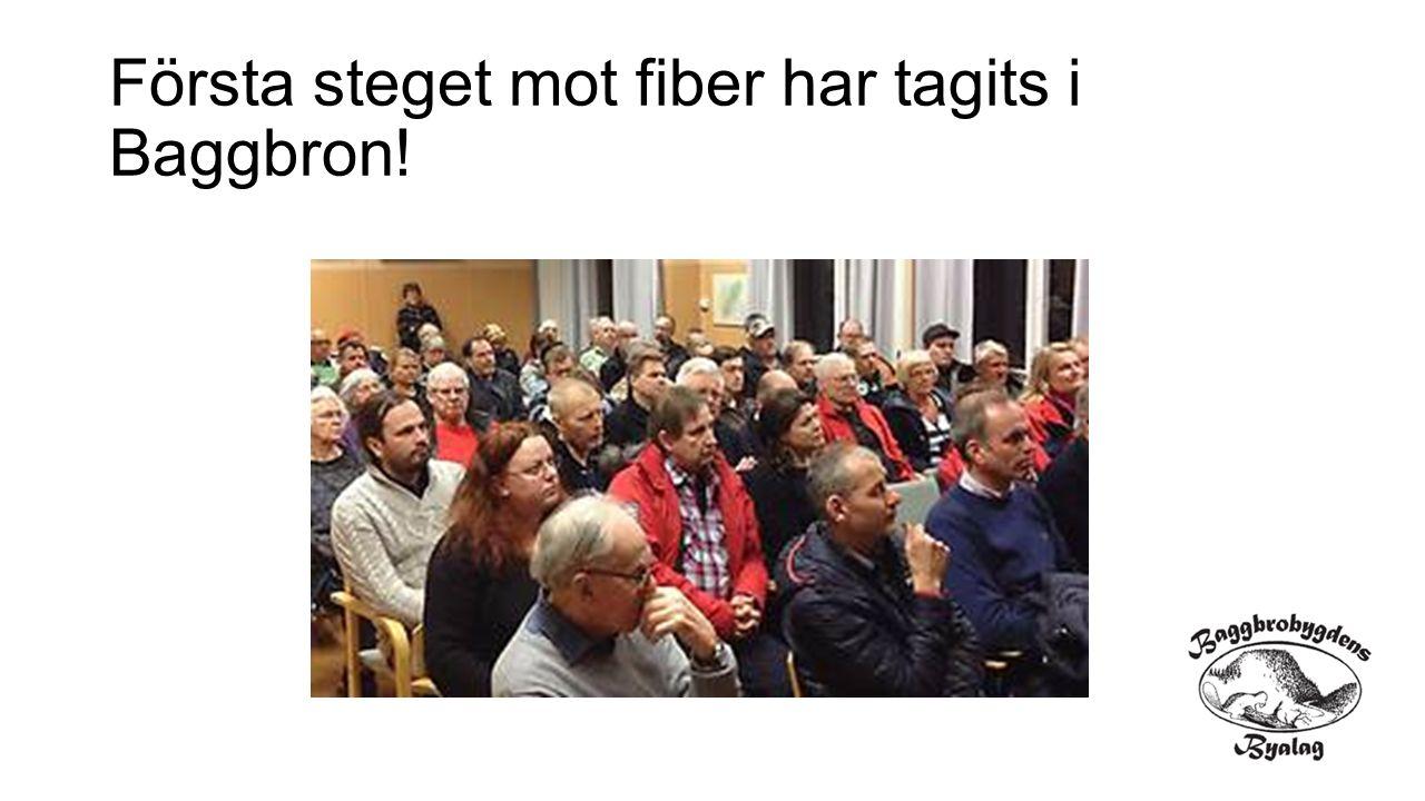 Projektgrupp fiber till bygden Anders Erman, Hultebo Mikael Lönnberg, Godkärra Jan Onning, Getingtäkten Per Fröling, Hultebo Niklas Skog, Baggbron Tomas Lanner, Baggå