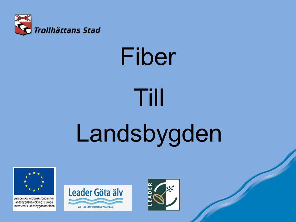 Fokus på fiber till byn – Byalagen vinnare i regeringens nya satsning Publicerad 2014-03-27 Regeringen anslår medel för bredbandsutbyggnad på landsbygden.