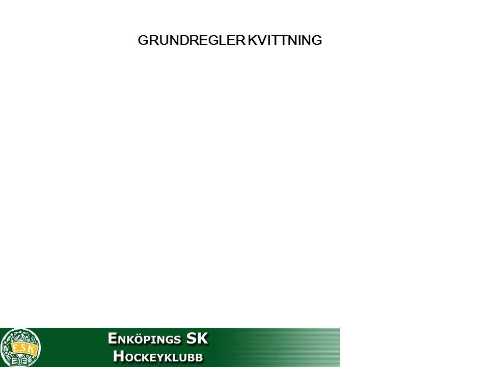 GRUNDREGLER KVITTNING