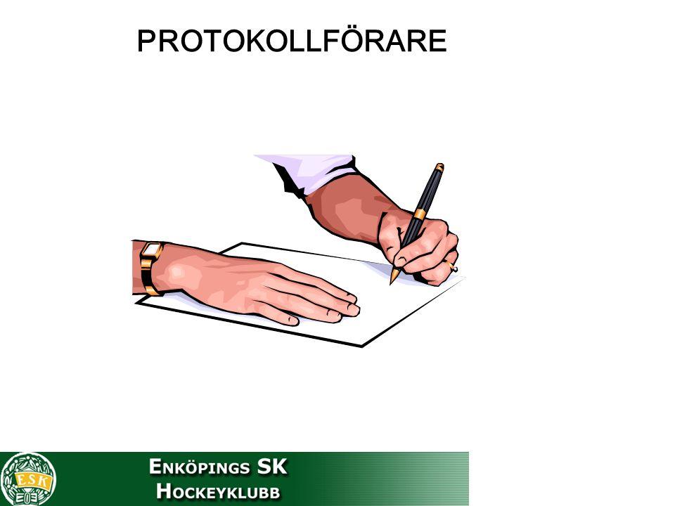 PROTOKOLLFÖRARE