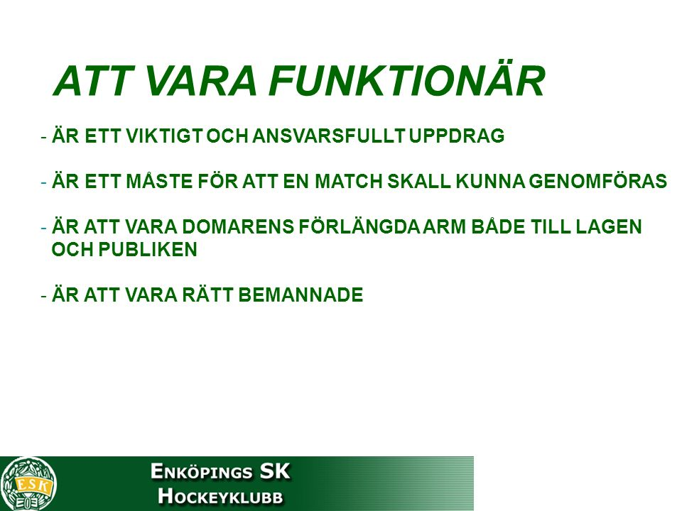 Först UT - Först IN EXEMPEL LAG ALAG B Nr 6 2 min 7.00- Nr 7 2 min 7.00mål 8.00