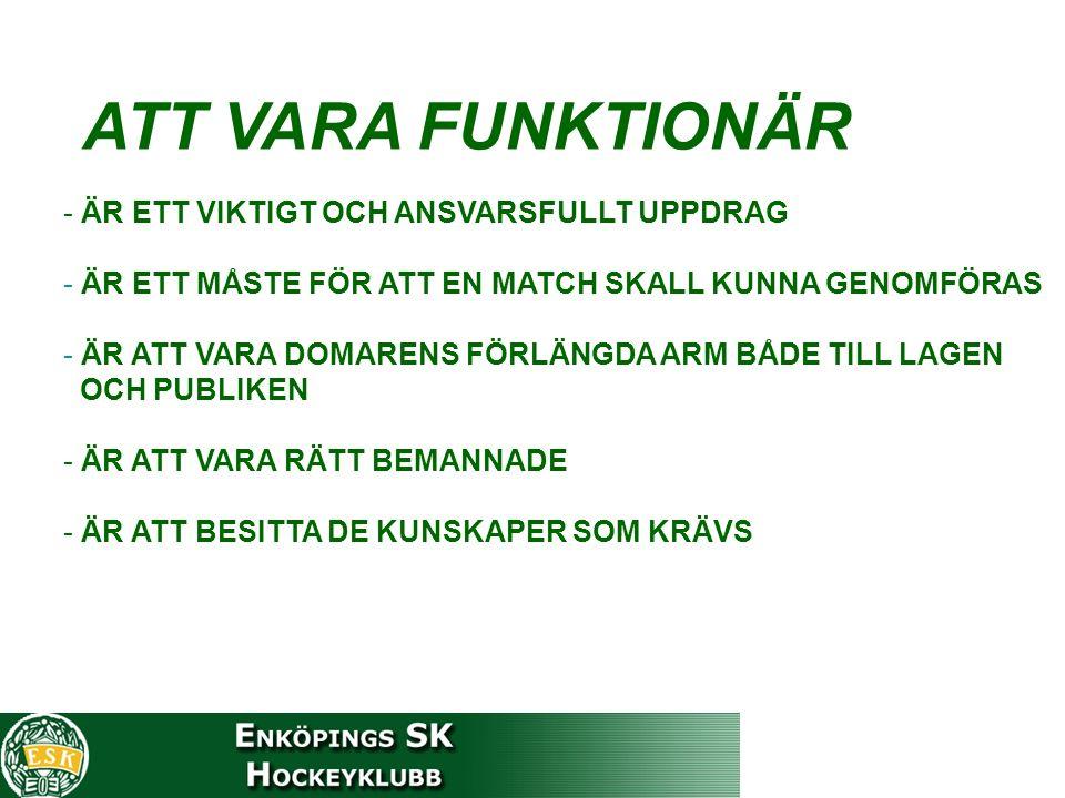 Först UT - Först IN EXEMPEL LAG ALAG B Nr 6 2 min 7.00- Nr 7 2 min 7.00mål 8.00 En av de båda spelarna återvänder.