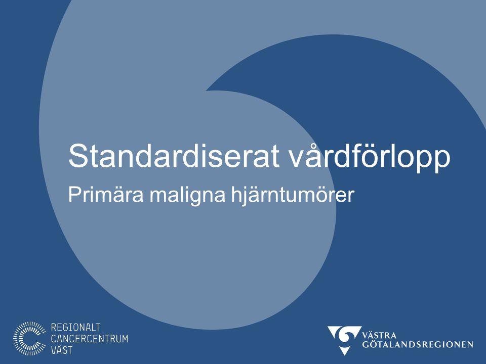 Bakgrund I Sverige upptäcks ca 1300 nya fall av primär hjärntumör årligen.