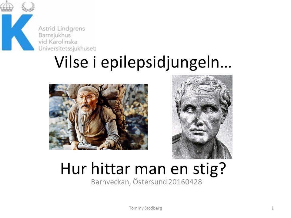Vilse i epilepsidjungeln… Hur hittar man en stig Barnveckan, Östersund 20160428 Tommy Stödberg1