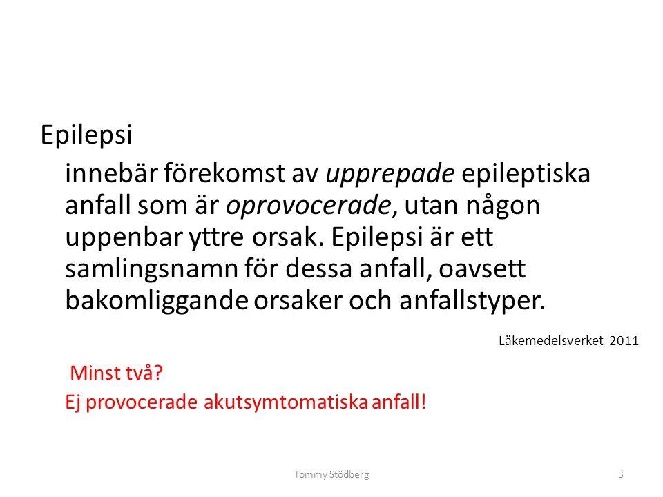 Tommy Stödberg Sanger sekvensering Första epilepsigenen 1995: CHRNA4 vid ADNFLE.