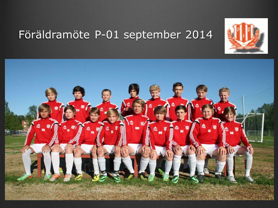 Föräldramöte P-01 september 2014