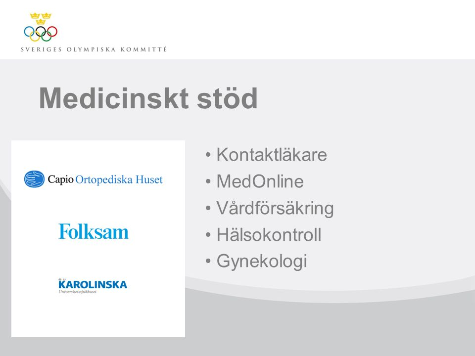 Medicinskt stöd Kontaktläkare MedOnline Vårdförsäkring Hälsokontroll Gynekologi