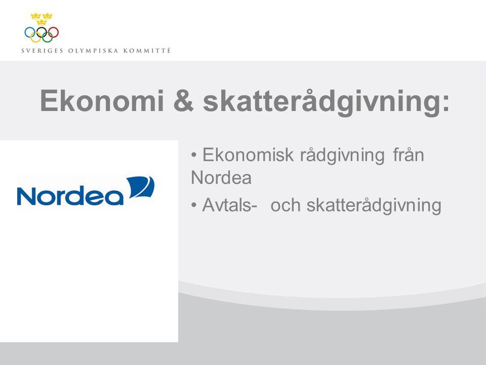 Ekonomi & skatterådgivning: Ekonomisk rådgivning från Nordea Avtals- och skatterådgivning