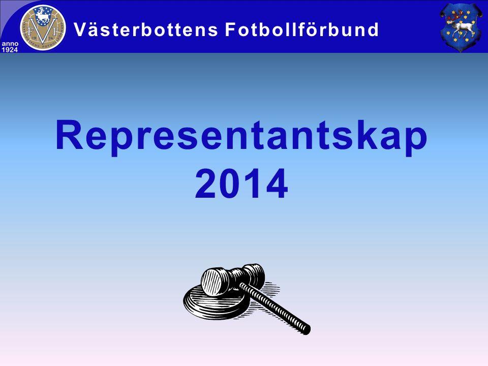 Representantskap 2014 Västerbottens Fotbollförbund