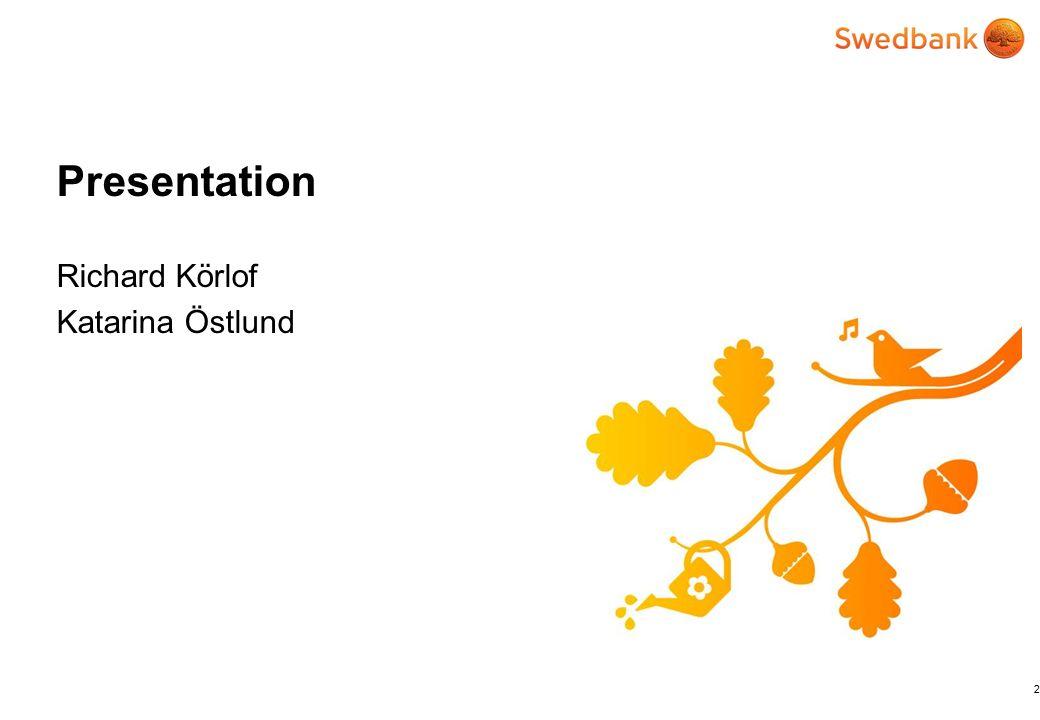 Presentation Richard Körlof Katarina Östlund 2