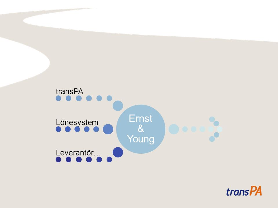 Ernst & Young transPA Lönesystem Leverantör…