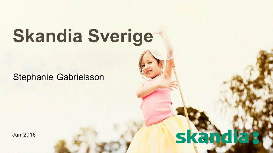 Skandia Sverige Stephanie Gabrielsson Juni 2016