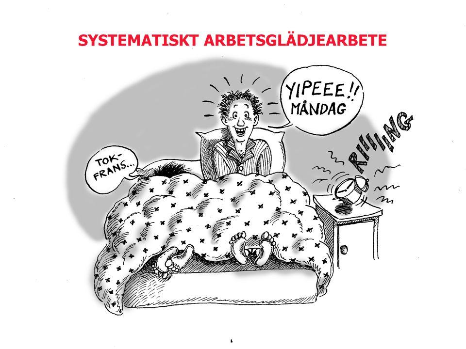 SYSTEMATISKT ARBETSGLÄDJEARBETE