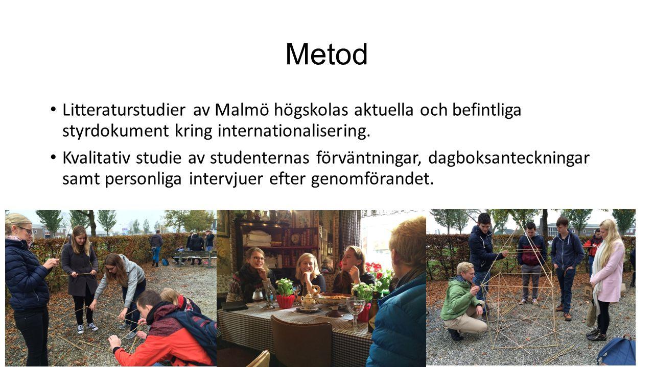 Teori Studiens teoriram utgår från ett interkulturellt lärande En bärande teoretisk modell i studien utgår från etnocentrism Interkulturellt lärande kontra interkulturell kompetens