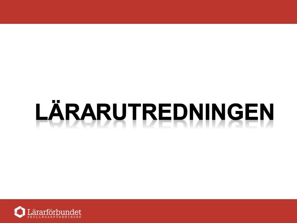 Lärar- examen Auktor- isation Karriärvägar inom läraryrket Verksamhet- ledarskap Projektledare Arbetslagsledare Skolledare Strategisk ledare Statlig rektors- Utbildning – Certifiering.
