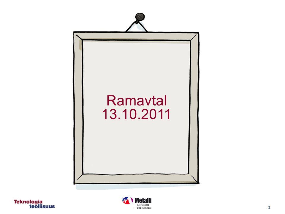 3 Ramavtal 13.10.2011