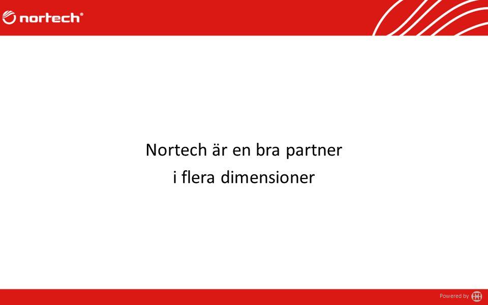 Powered by Nortech är en bra partner i flera dimensioner