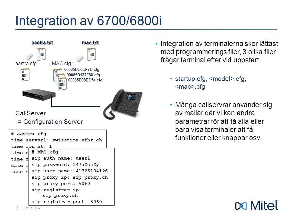 | ©2015 Mitel USB Headset 4.0.0 SP1 USB (Enbart 6867i/6869i) Jabra BIZ 2400 Duo USB, UC (P/N: 2499-829-105) Plantronics Blackwire C720 (P/N: 87506-12) Plantronics Voyager Legend UC, B235, NA (P/N: 87670-01) Sennheiser D 10 USB - US (Prod.