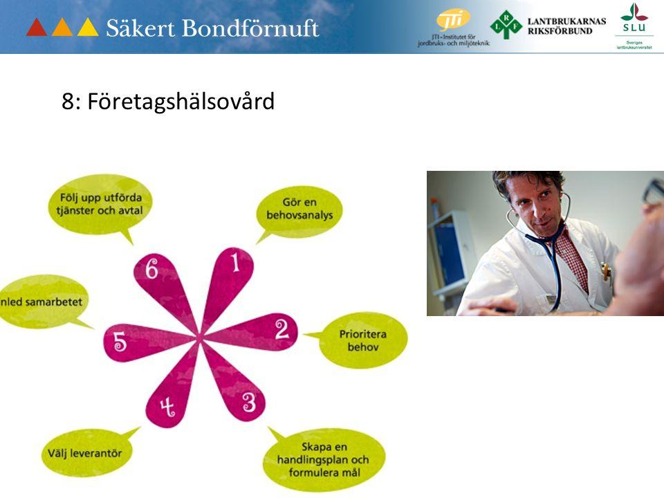 8: Företagshälsovård