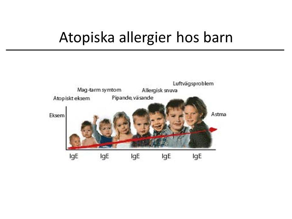 Atopiska allergier hos barn