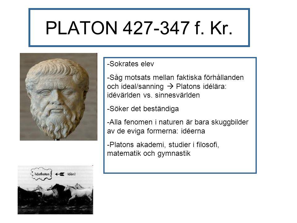 PLATON 427-347 f. Kr.