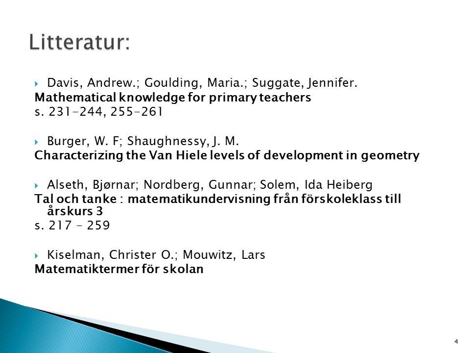  Davis, Andrew.; Goulding, Maria.; Suggate, Jennifer.