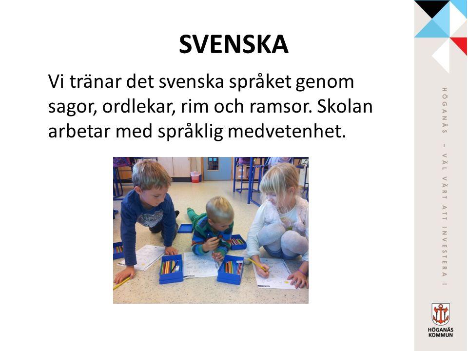 IDROTT Barnen får möjlighet att utveckla och träna sin motorik och sin samarbetsförmåga samt lära sig ta instruktioner och utföra uppgifter enligt dessa.