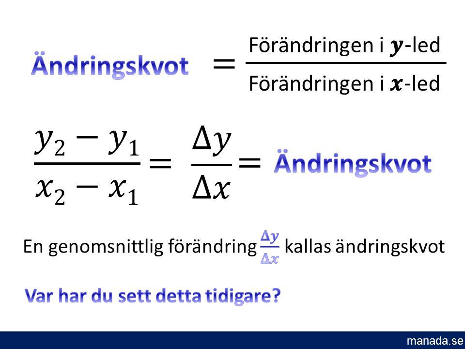 Förändringen i - led manada.se