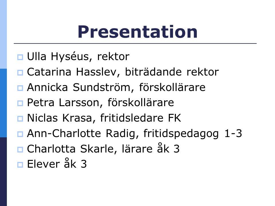 Lidingö Stads vision Sveriges bästa förskolor och skolor