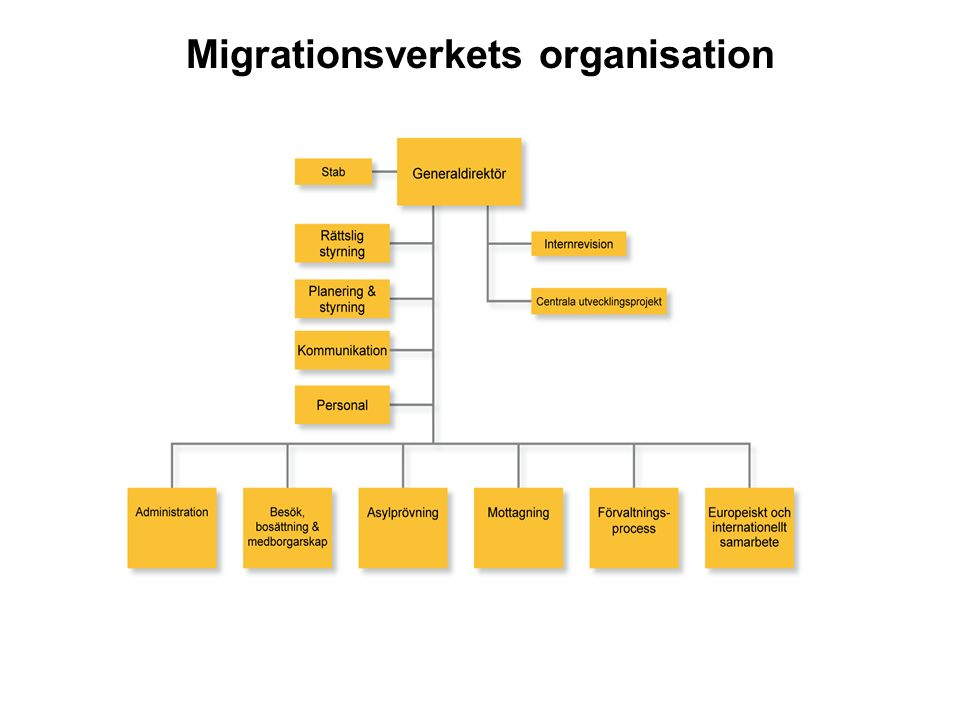 Migrationsverkets organisation