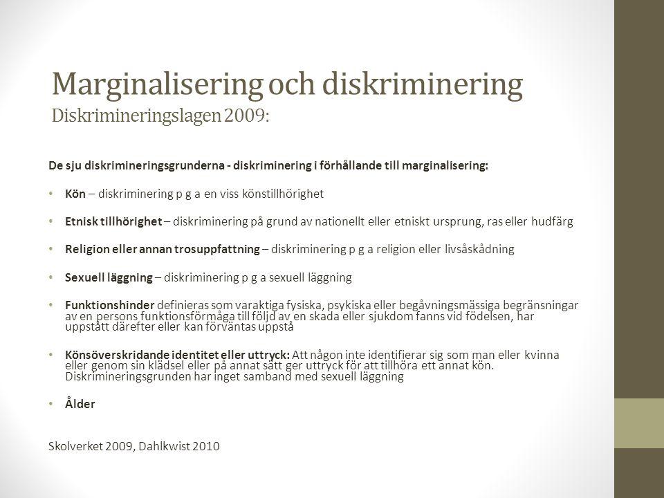 Diskriminering, mobbning och kränkningar Vad är mobbning.