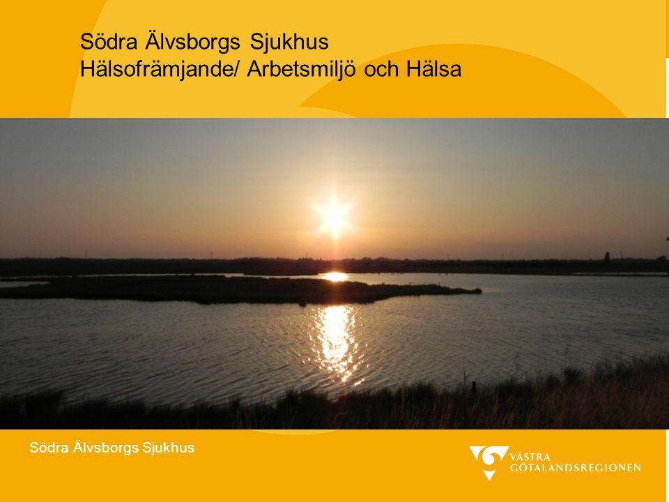 Södra Älvsborgs Sjukhus Hälsofrämjande/ Arbetsmiljö och Hälsa