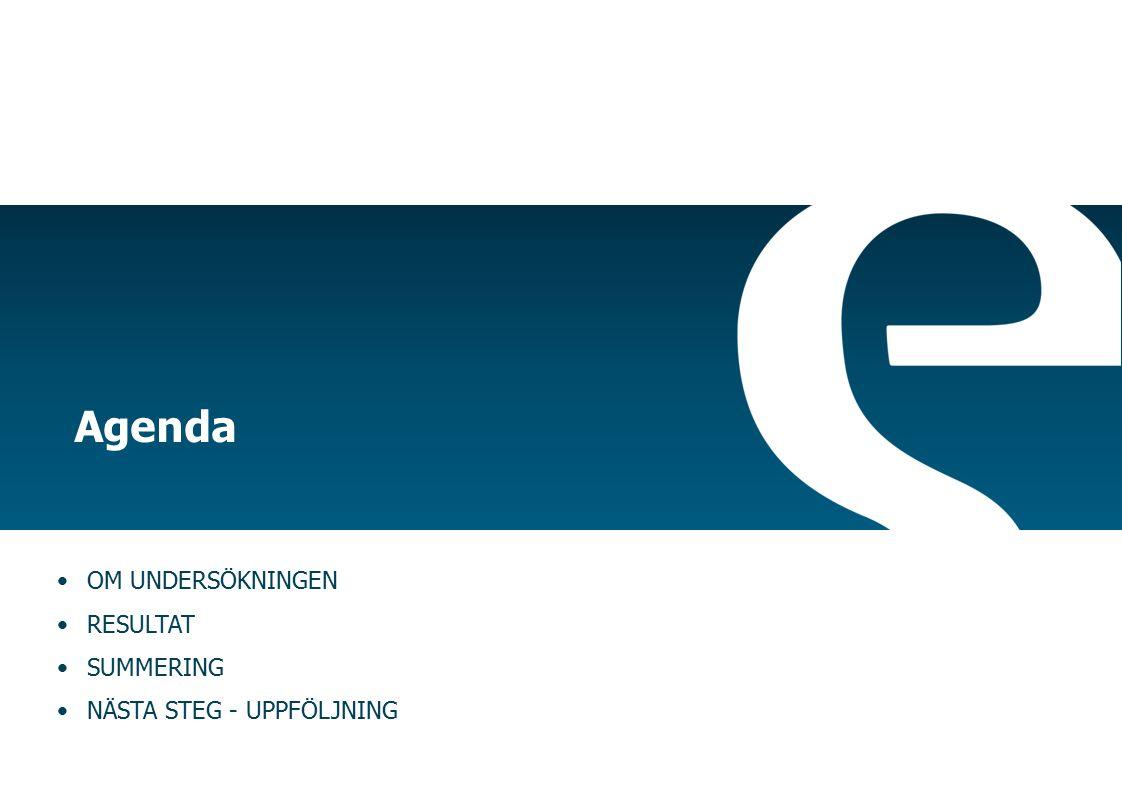 Effekt på engagemang De faktorer som påverkar engagemang Anseende Närmaste chefSamarbeteArbetsvillkor Arbets- innehåll Lön & anställnings- förhållanden Lärande & Utveckling GELx Sverige SVT  !.