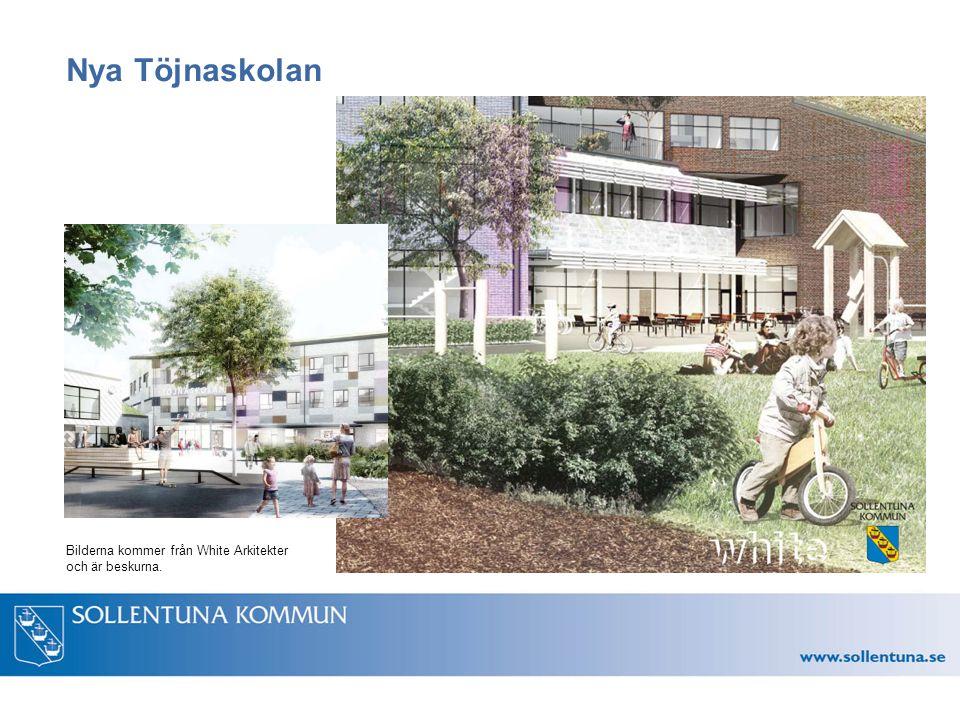 Nya Töjnaskolan Bilderna kommer från White Arkitekter och är beskurna.