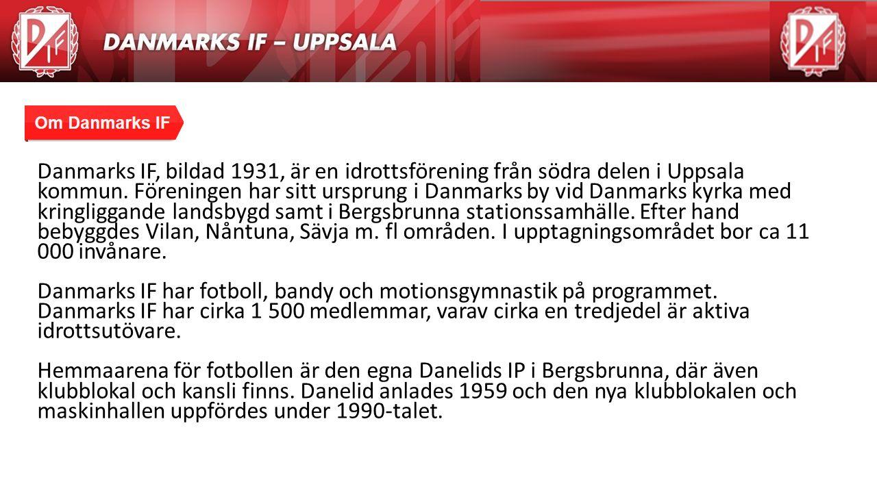 Agenda Danmarks IF, bildad 1931, är en idrottsförening från södra delen i Uppsala kommun. Föreningen har sitt ursprung i Danmarks by vid Danmarks kyrk