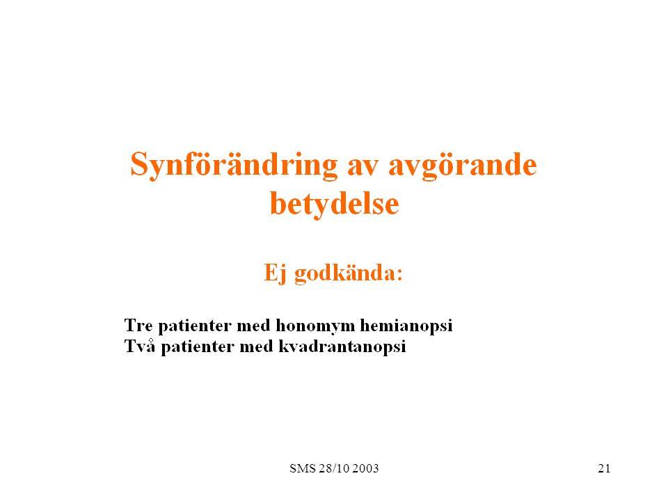 SMS 28/10 200321