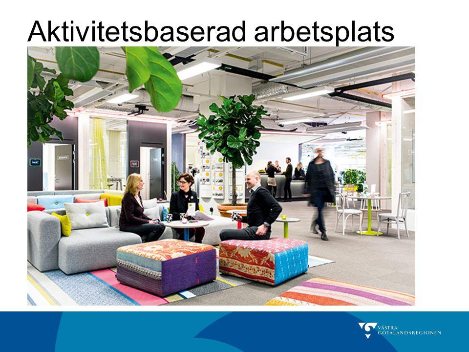 Aktivitetsbaserad arbetsplats