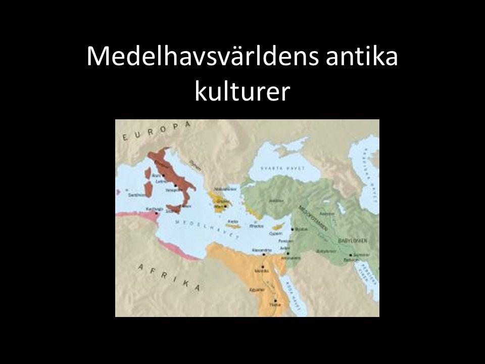 Medelhavsvärldens antika kulturer