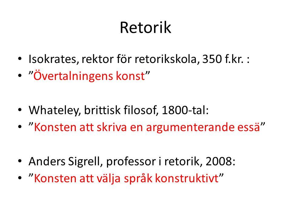 Retorik Isokrates, rektor för retorikskola, 350 f.kr.