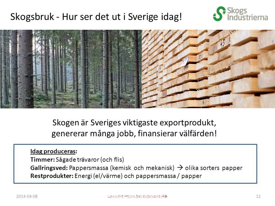 Skogsbruk - Hur ser det ut i Sverige idag.